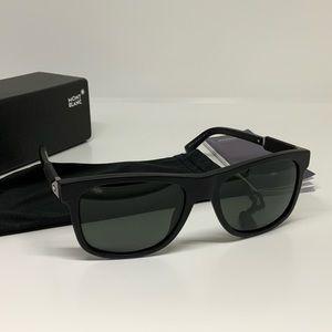 Montblanc square men sunglasses SZ 56-18-140 NWOT